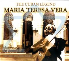 María Teresa Vera, one of the few female singers and composers in Cuba of her time
